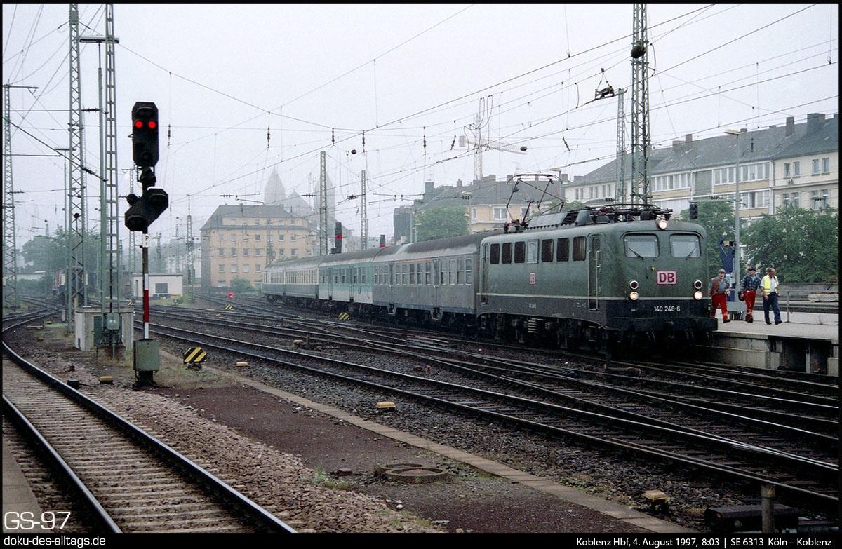 Zug Koblenz Köln