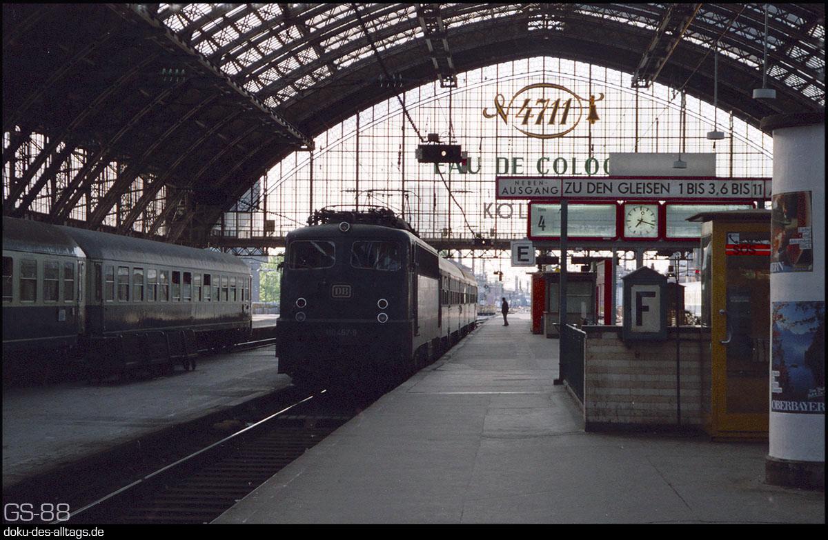 Köln Hbf Gleis 4 Und 5 Gegenüber