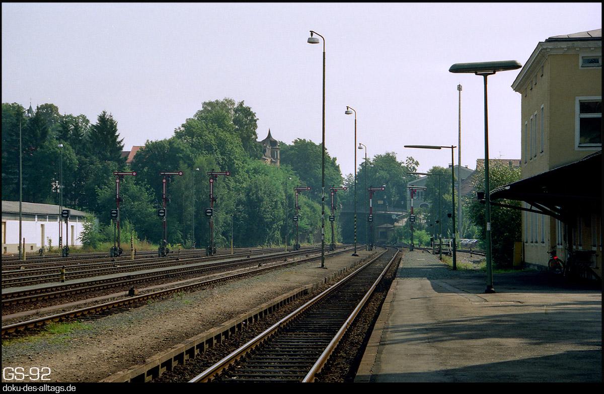 Panoramio - Photo of Bahnhof Furth im Wald, Railway